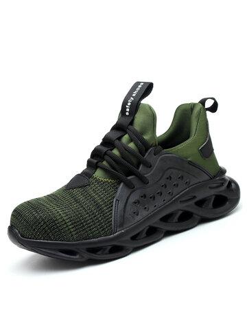 Men Steel Toe Cap Work Safety Sneakers