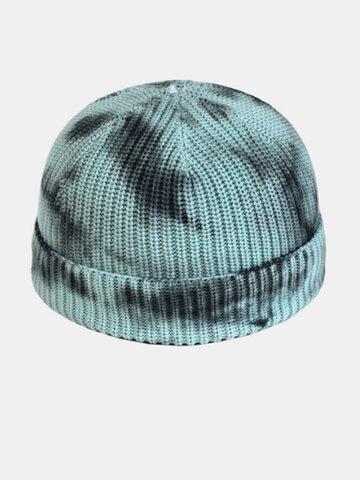 قبعة مستديرة للرجال والنساء ، قبعة شمام دافئة بدون حافة