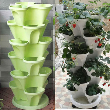 Stackable Planter Pots