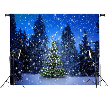 7x5ft Vinyl Christmas Photography Background