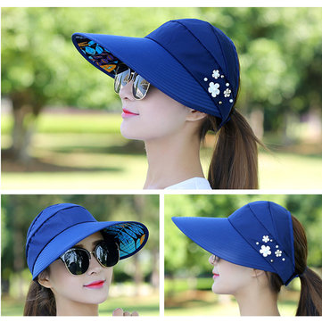Women Summer Gardening Anti-UV Foldable Hat