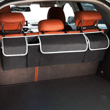 Авто Карманный многоячеистый накопитель на задней панели багажника Коробка