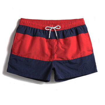 Color Block Loose Board Shorts