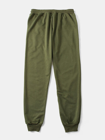 Solid Color Casual Sports Pants