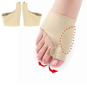 1 Pair Anti Friction Toes Brace
