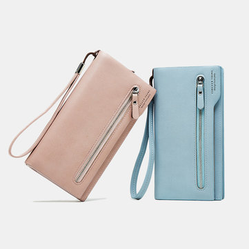 Women Zipper Long Phone Bag
