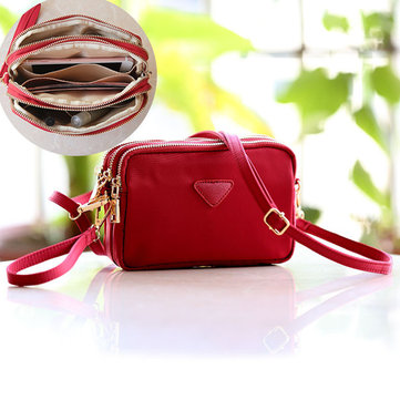 Women Water Resistant Multi-slot Crossbody Bags
