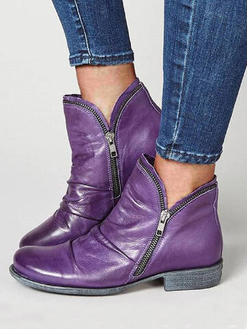 Women's Flat Ankle Boots