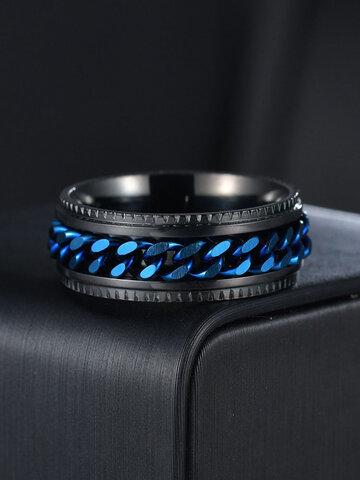 Titanium Steel Chain Ring