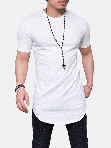 T-shirt in cotone misto