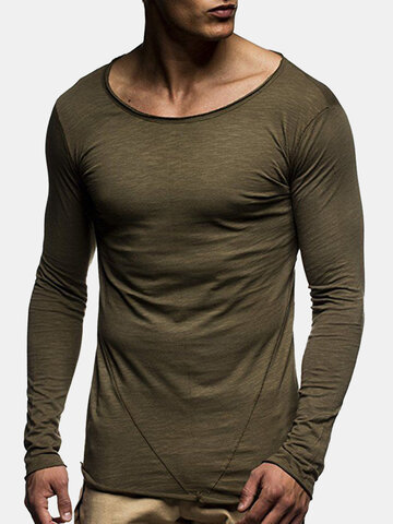 Thin Long Sleeve Casual T Shirts