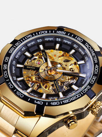 Luminous Display Mechanical Watch