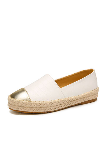 Slip On Espadrille Flats Loafers