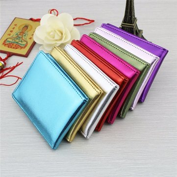 Microfiber Leather Portable Card Holder Driving License Holder