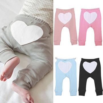 Coração Imprimir Bebê Calças Para 0-36M
