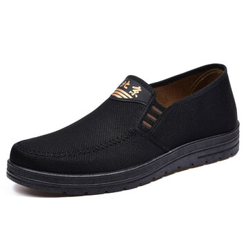 Men Brief Breathable Hollow out Loafers Shoes