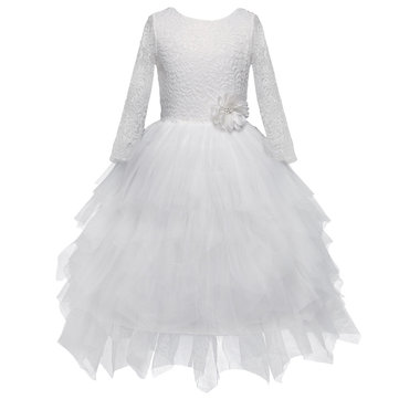Girls Layered Princess Dress For 3Y-11Y