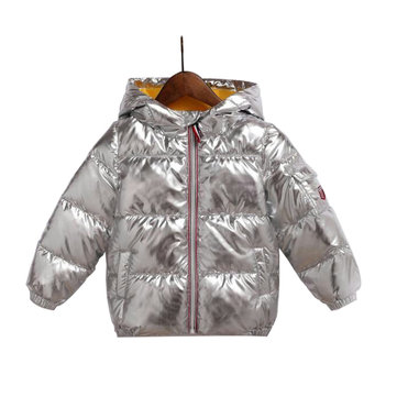 Casual Soft Kids Down Jackets For 3Y-11Y