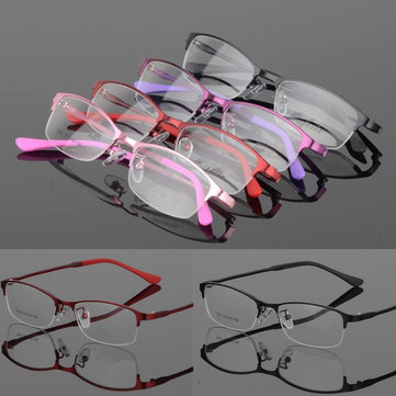 Half Frame Eyeglasses, Black purple wine red pink