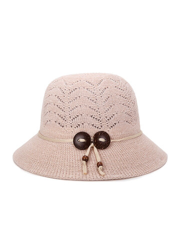 Womens Hollow Bucket Cap
