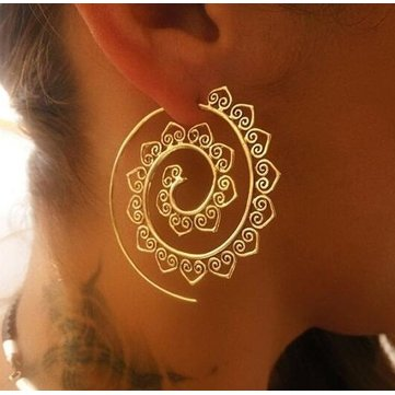 Fashion Spiral Earrings
