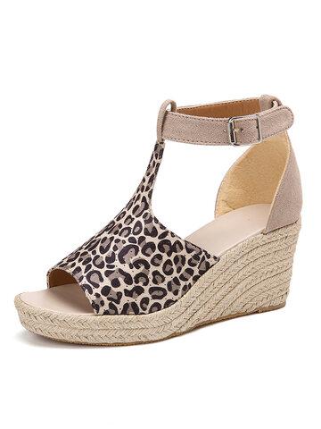 Platform Comfy Wedges Sandals