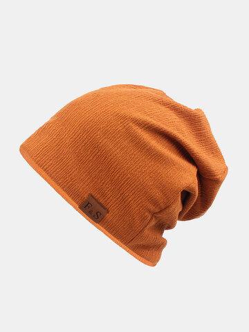 قبعة شتوية سميكة للجنسين للتدفئة من الصوف قبعة منسوجة