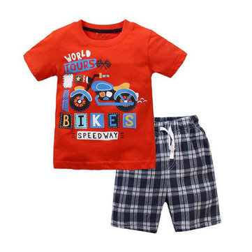 Printed Kids Boys Clothes Set
