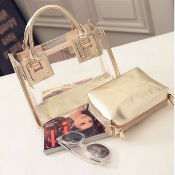 Transparent Crystal Crossbody Bag