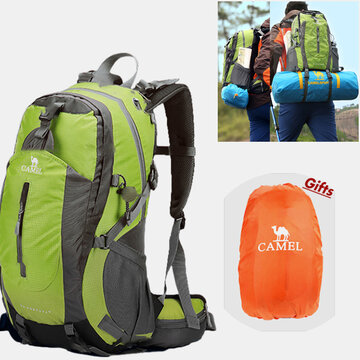 Polyester 50L Waterproof Outdoor Climbing Hiking Travel Lightweight Backpack