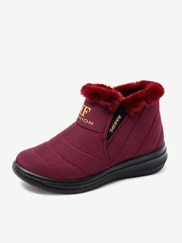 Lightweight Waterproof Elastic Band  Warm Boots
