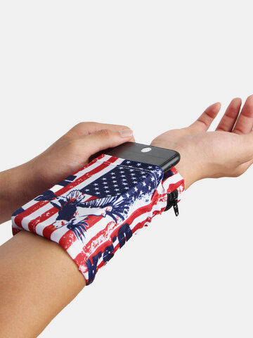 6.3 Inch Phone Holder Cycling Wrist Wallet