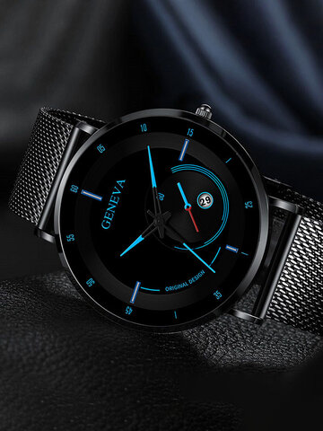 Alloy Steel Quartz Watch