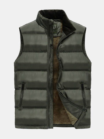 Men's Casual Thicken Down Vest