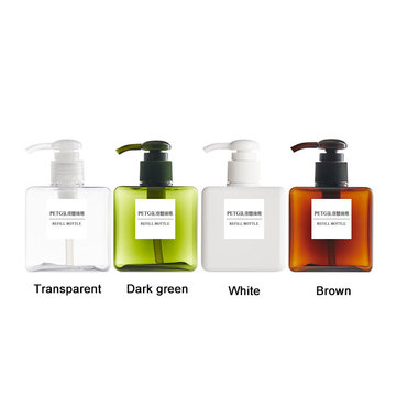 250ml Shampooing Rechargeable Bouteille
