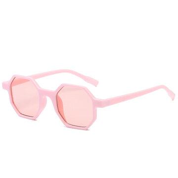 Octagon Frame Sunglasses
