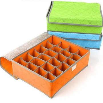 7/16/24 Grids Portable Bamboo Charcoal Storage Box