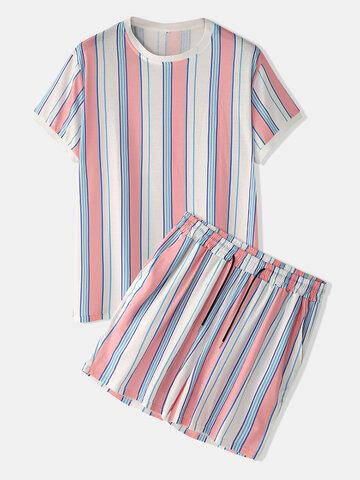Colorful Striped Sleepwear Sleepwear