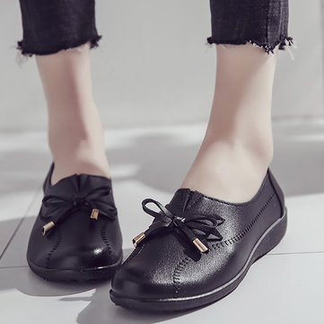 Women Bowknot Flat Shoes