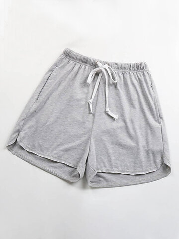 Basic Solid Color Shorts