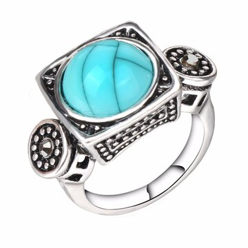 Fashion Turquoise Finger Ring