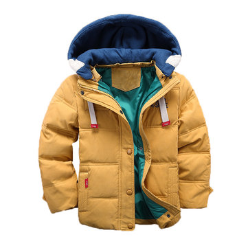 Soft Girls Boys Thick Coat For 4Y-13Y