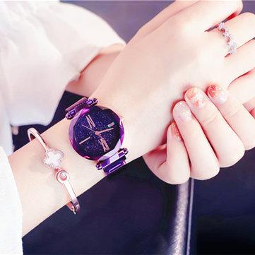 Fashion Scrub Star Quartz Wristwatch