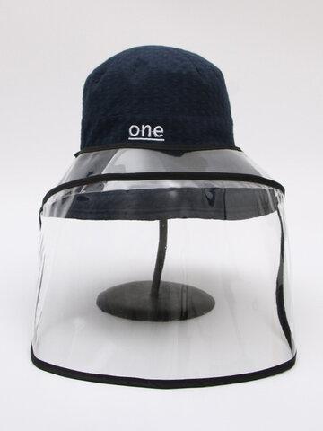 قبعة صياد مقاومة للوجه قابلة للانعكاس ومغطاة للنظارات