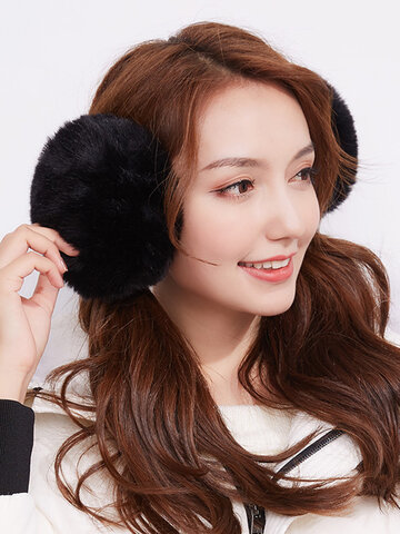 Women Unisex Ear Warmer Plush Earmuffs