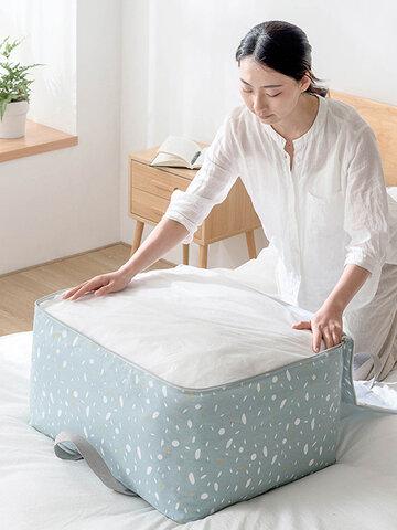 8 Colors Large Capacity Linen Quilts Clothes Storage Bag