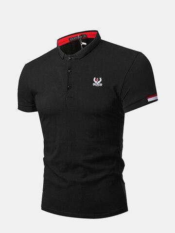 Stickerei Business Casual Golf Shirt