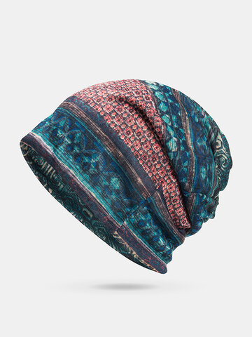 Breathable Chemo Cap Print Confinement Cap Turban Outdoor Cap