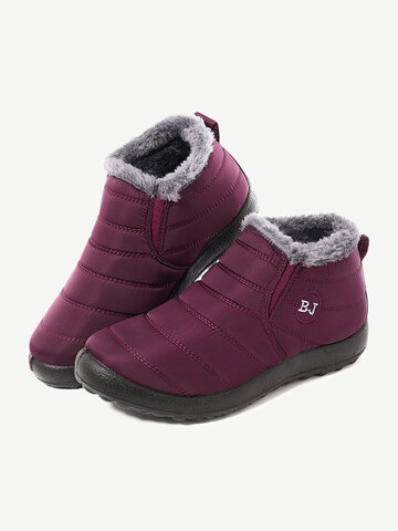 LOSTISY Warm Snow Casual Women Boots