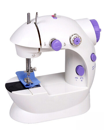 Automatic Thread Sewing Machine Electric Portable Sewing Machine Adjustable 2 Speed with LED For Christmas DIY Gift